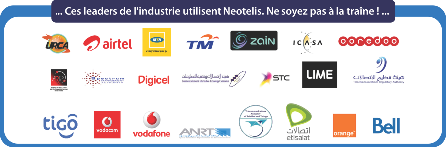 Ces leaders de l'industrie utilisent Neotelis!